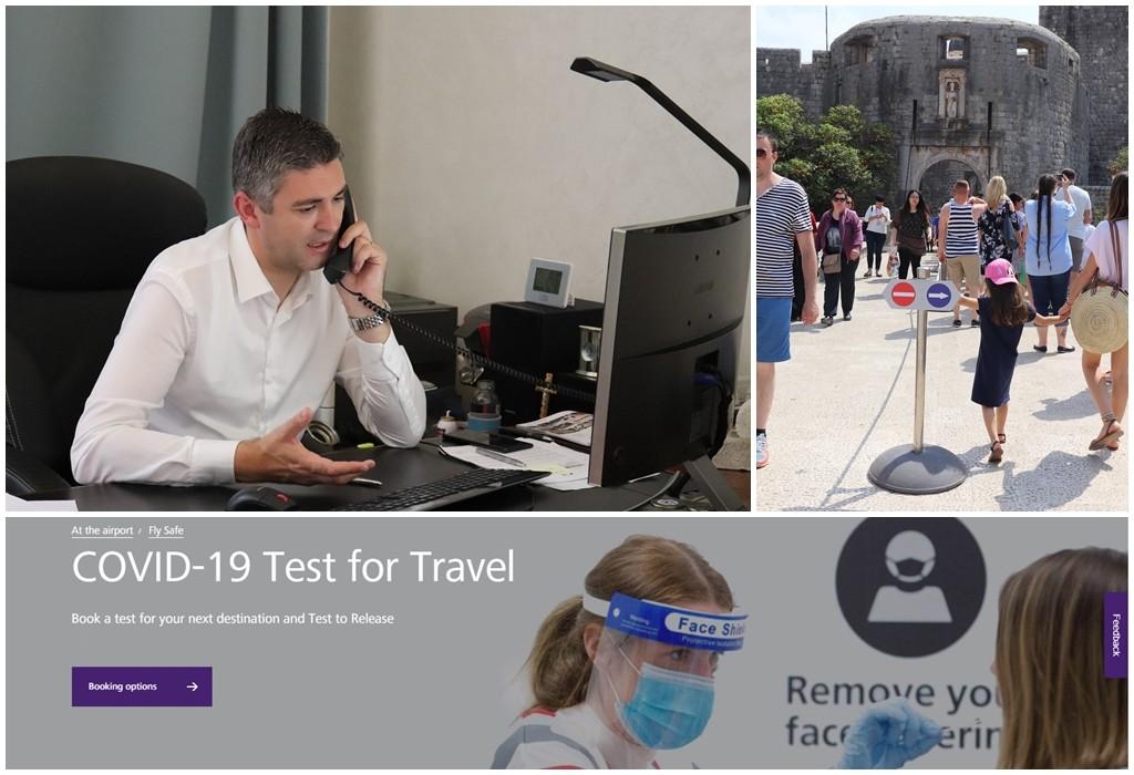 JOŠ JEDNA INICIJATIVA GRADONAČELNIKA MATA FRANKOVIĆA Upućen prijedlog Vladi RH za mjere koje bi omogućile lakši dolazak turista