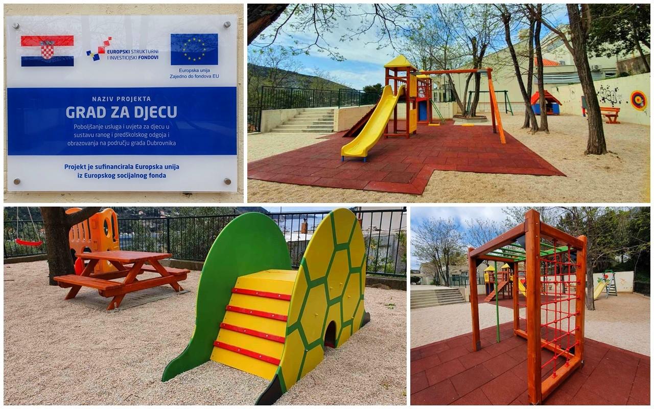 EU sredstvima uređeno i opremljeno igralište dječjeg vrtića Pčelica