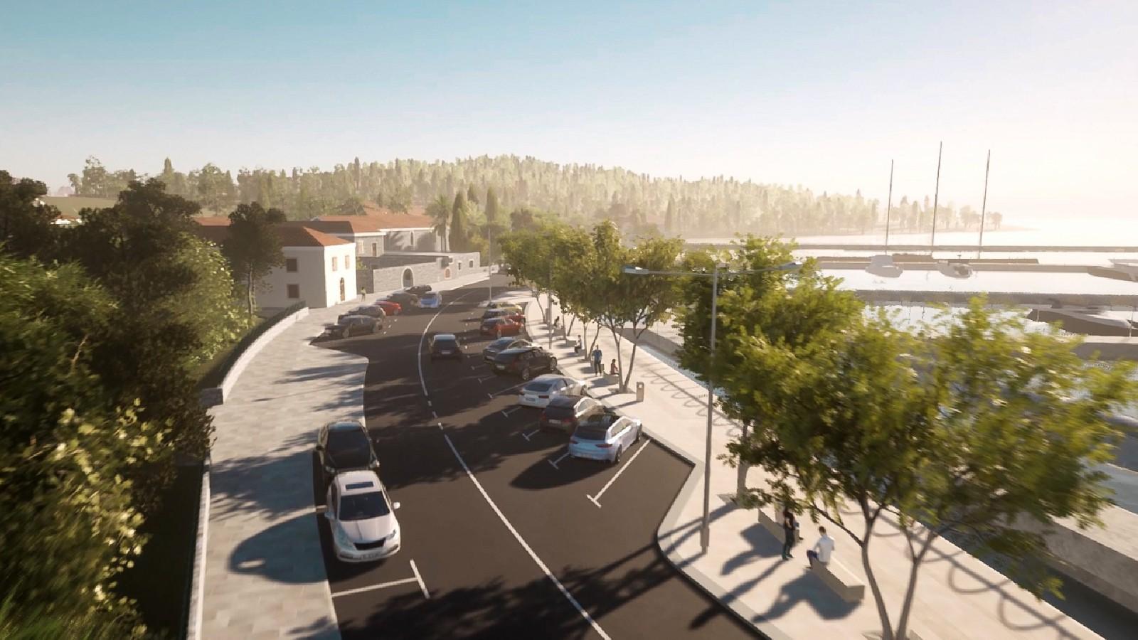 OBAVIJEST Zbog radova na Lapadskoj obali zatvara se parkiralište