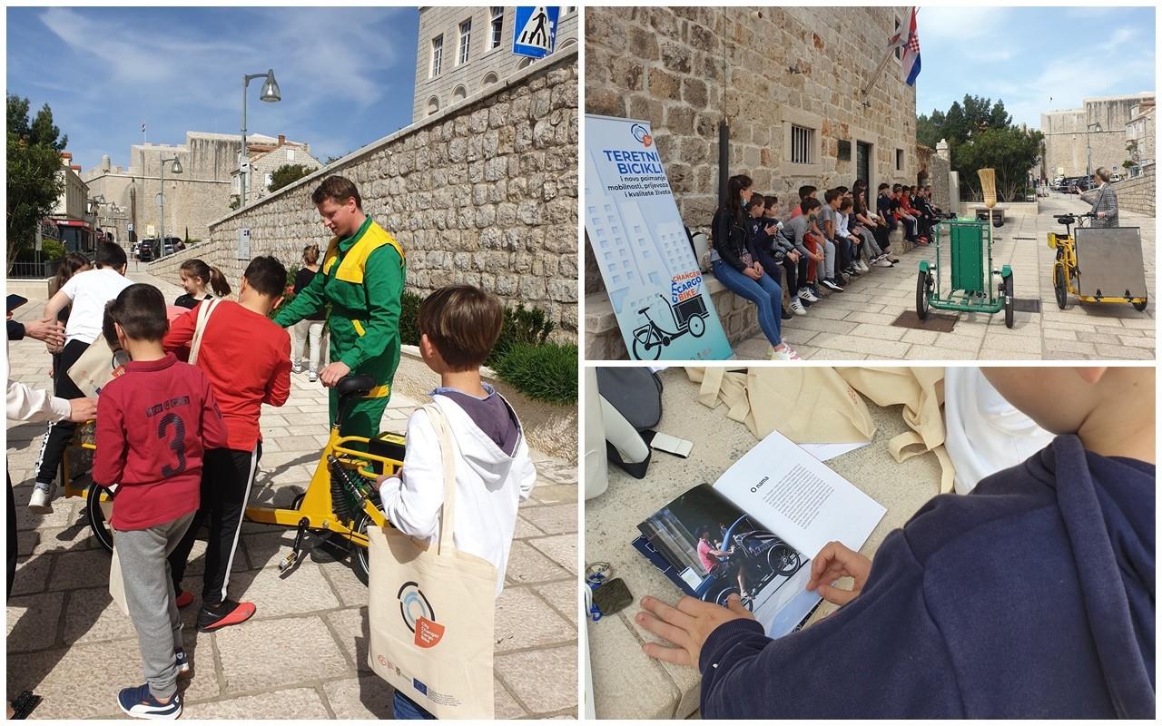 Projekt City Changer Cargo Bike predstavljen učenicima OŠ Marin Getaldić