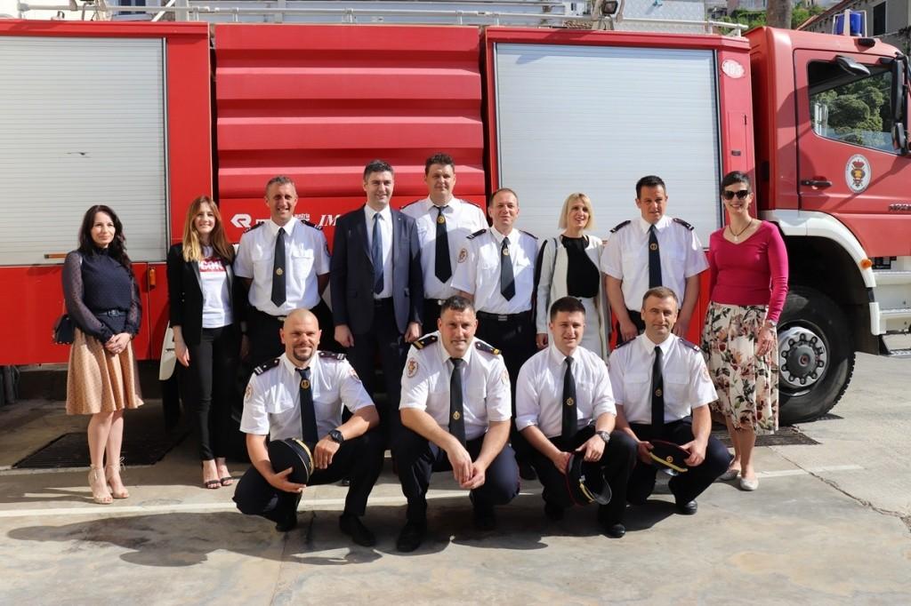 Gradonačelnik Franković čestitao Dan vatrogastva i blagdan sv. Florijana