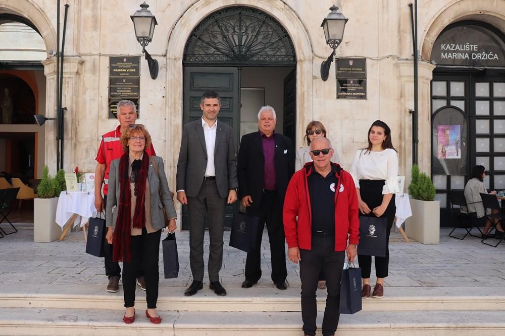 Gradonačelnik s dubrovačkim društvom Crvenog križa: Suradnja je snažna i kontinuirana