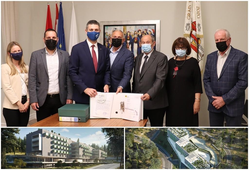 Predan zahtjev za građevinsku dozvolu za Dom umirovljenika ispod Opće bolnice Dubrovnik