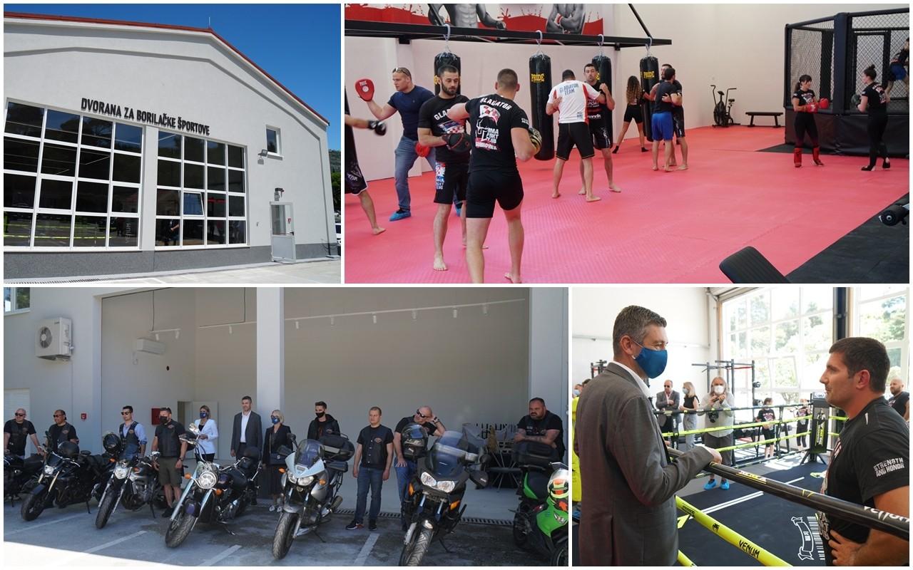 Gradonačelnik obišao dvoranu za borilačke sportove