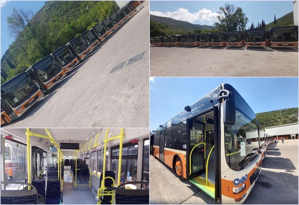 U Dubrovnik stiglo 11 novih autobusa u cijelosti financiranih bespovratnim sredstvima