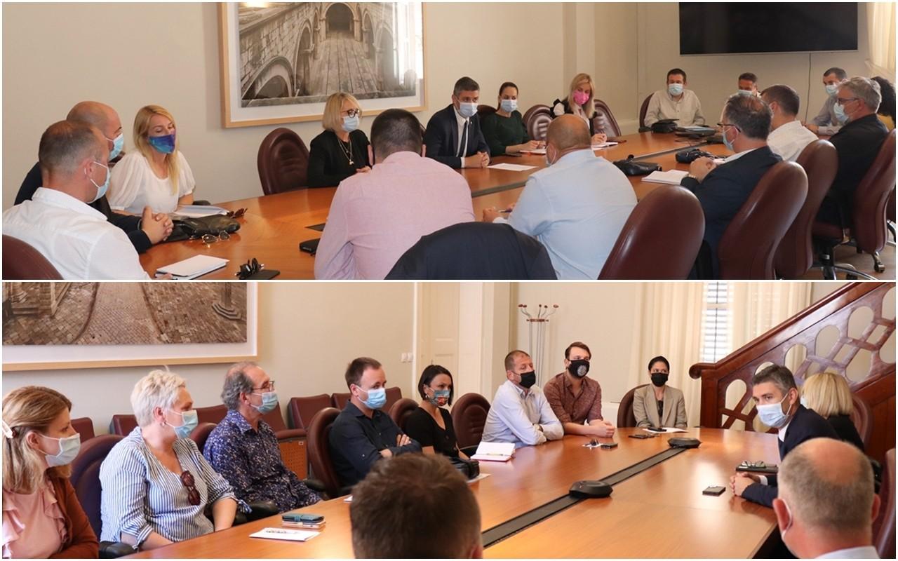 Gradonačelnik održao sastanke s direktorima i ravnateljima
