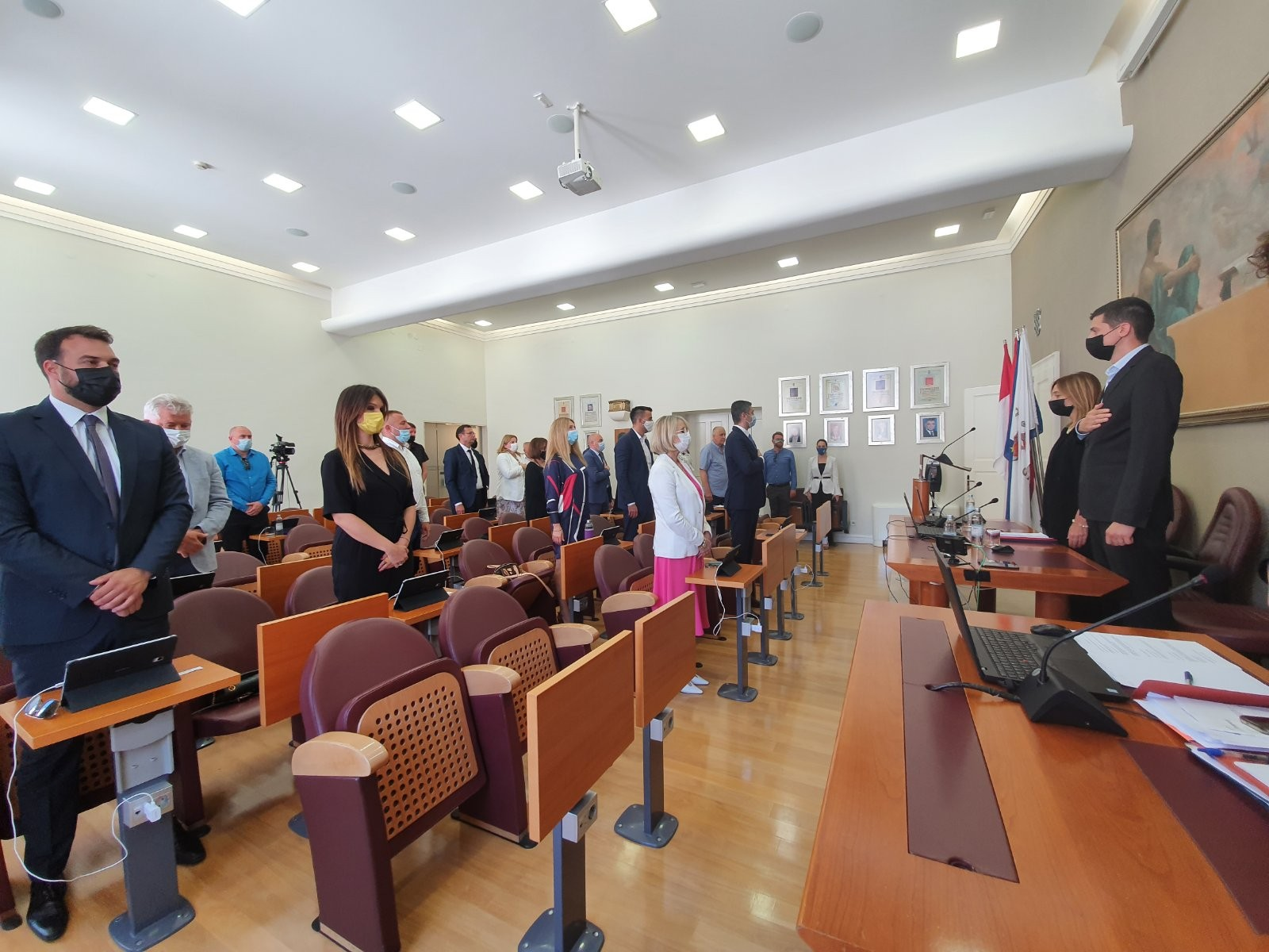 Konstituiran osmi saziv Gradskog vijeća Grada Dubrovnika