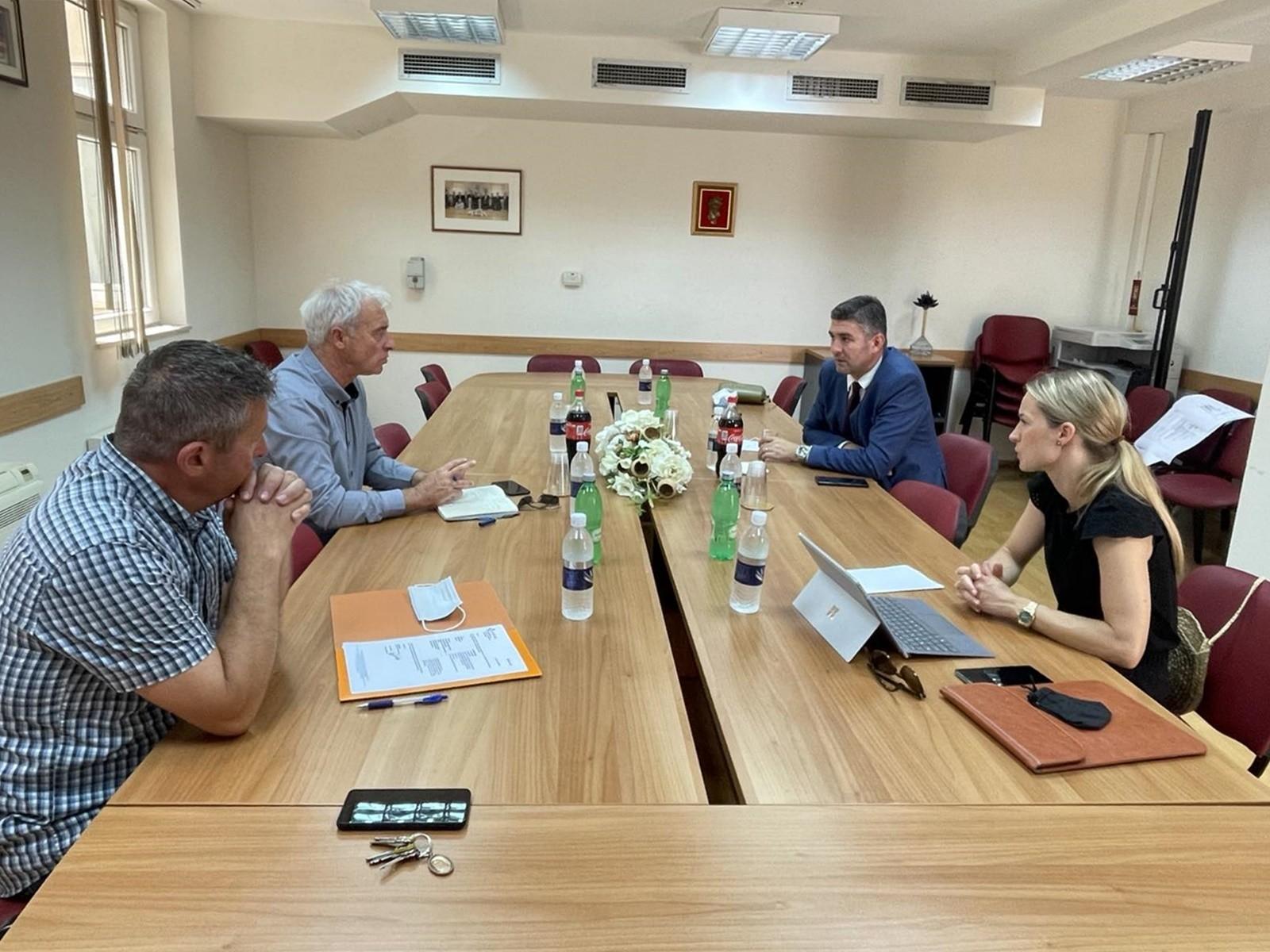 Gradonačelnik Franković i načelnik Nardelli o modelima financiranja groblja Dubac