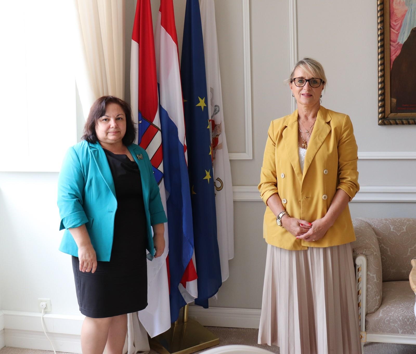 Zamjenica Tepšić primila veleposlanicu Republike Bugarske