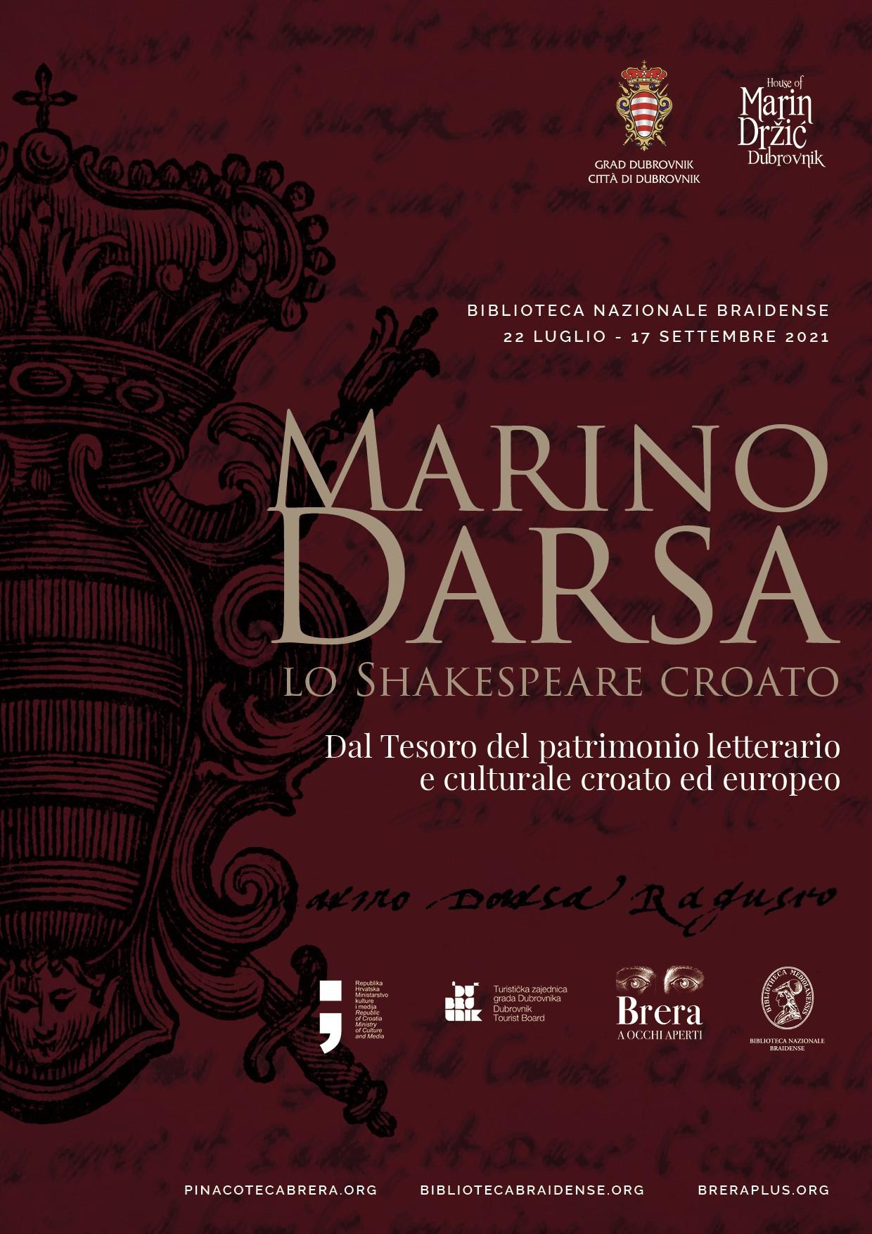 Marin Držić – hrvatski Shakespeare: iz riznice hrvatske i europske književne i kulturne baštine
