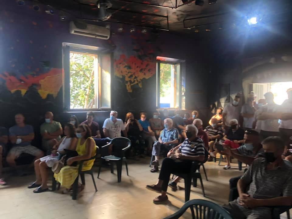 Na zboru građana Šipanske Luke usuglašena trasa buduće kanalizacijske mreže