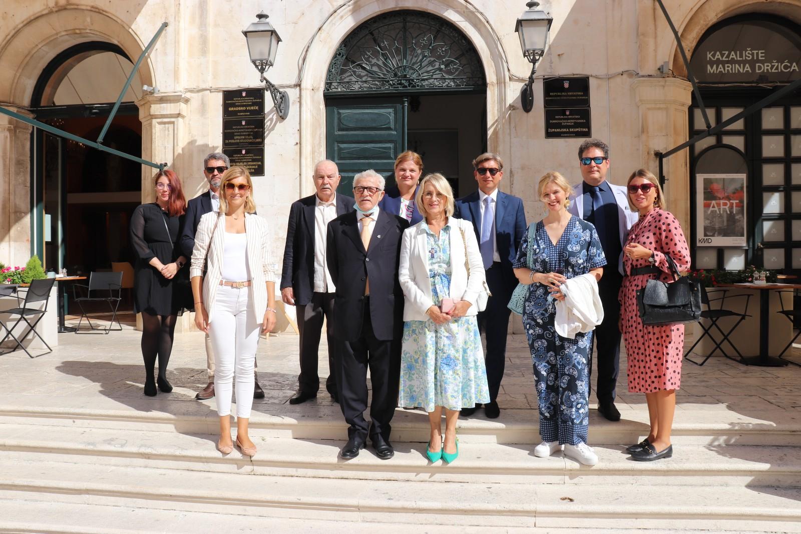 Prijem za delegaciju Sorrenta povodom 15 godina kulturne suradnje
