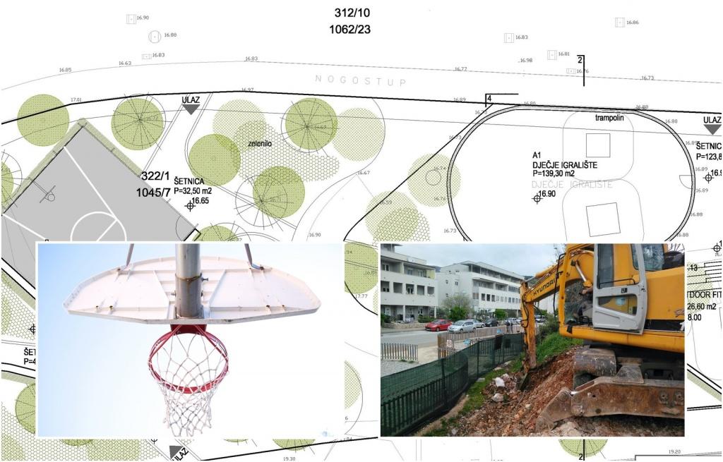 U Solitudu niče nova sportsko-rekreativna zona, uređuje se park dječjim i sportskim igralištima