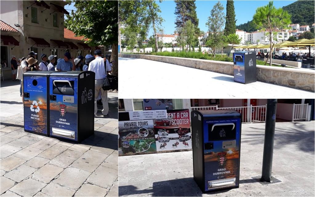 Čistoća postavila 10 novih pametnih spremnika za prikupljanje otpada
