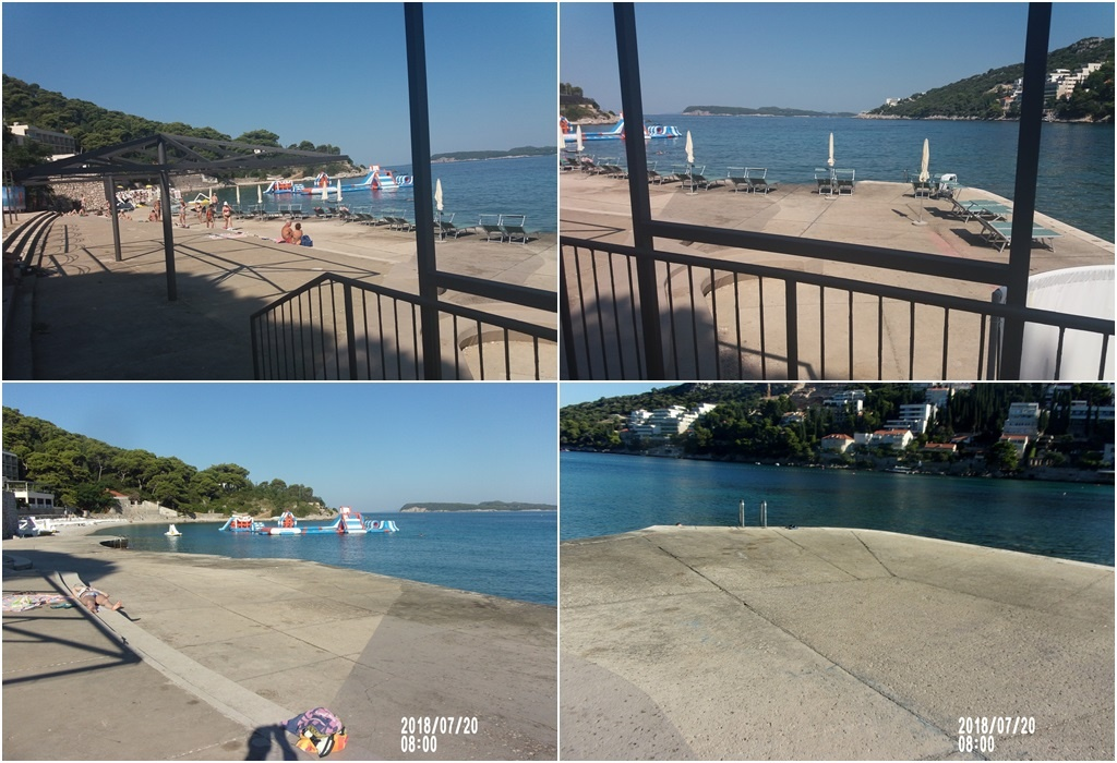 Uklonjene nelegalne ležaljke s plaže 'Adriatica'