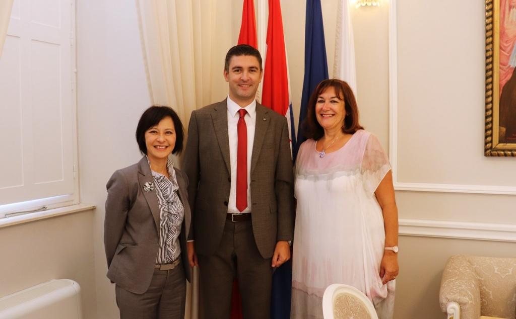 Gradonačelnik primio veleposlanicu Tajvana