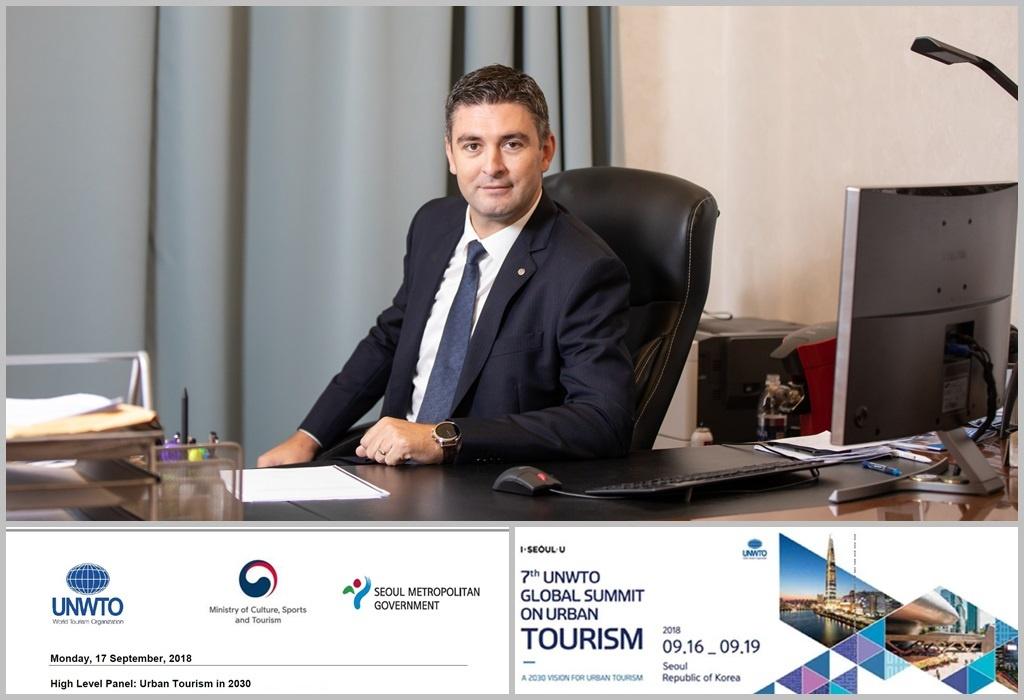 Gradonačelnik na Svjetskom summitu o turizmu u Seulu
