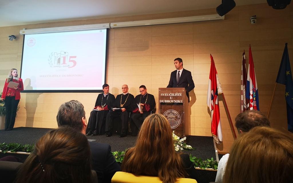 Proslava 15 godina Sveučilišta u Dubrovniku