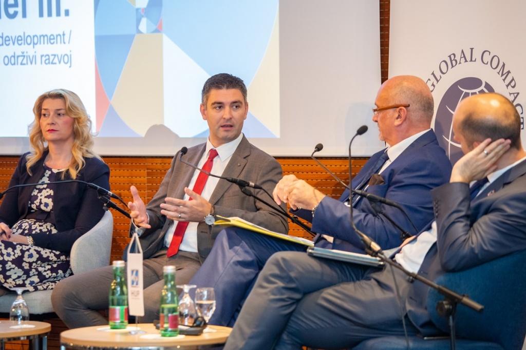 Gradonačelnik na panelu konferencije HUP-a i Global Compact mreže