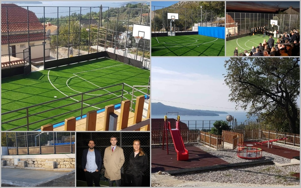 Svečano otvoreno sportsko igralište u Trstenom