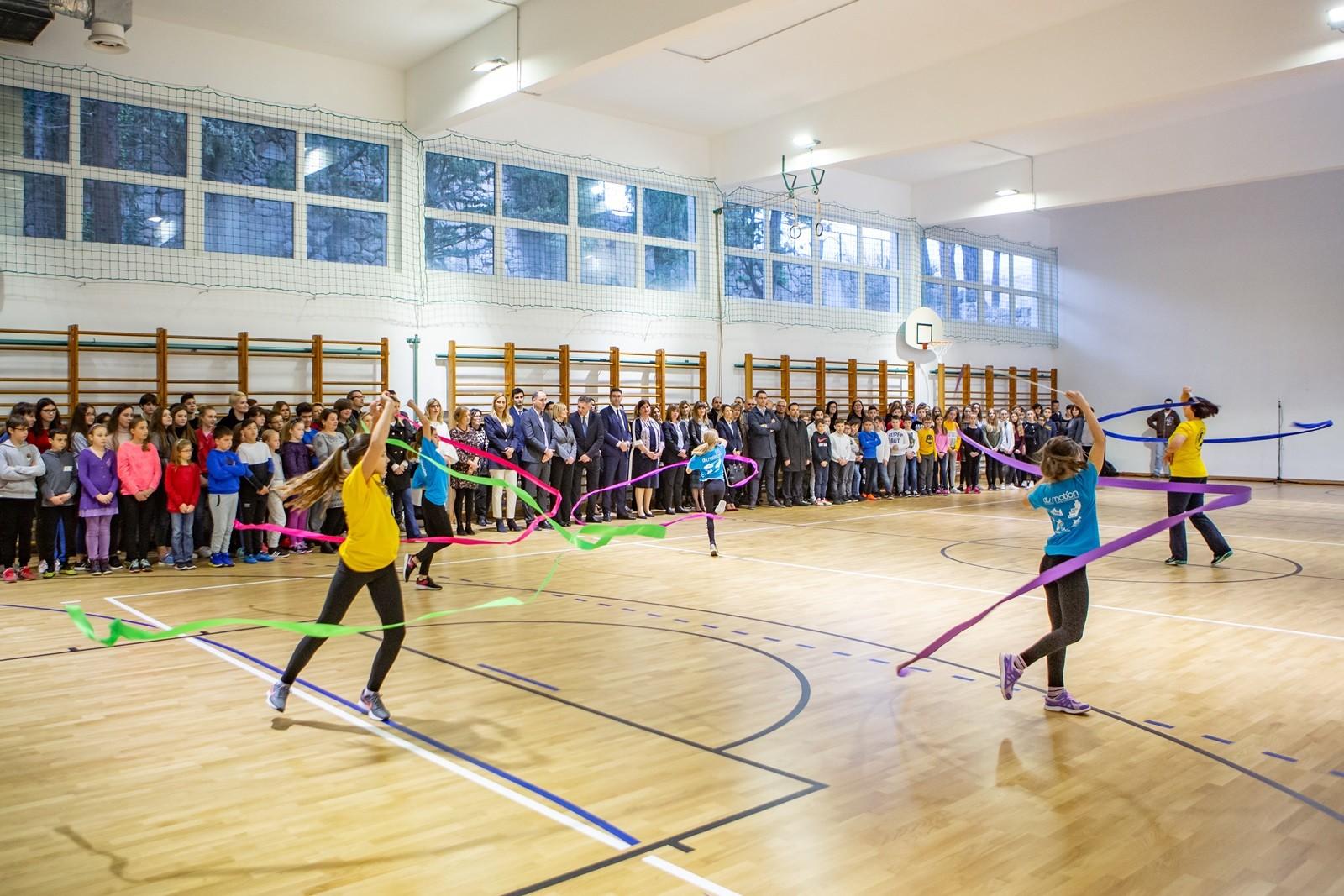 Nakon cjelovite obnove svečano otvorena sportska dvorana OŠ Lapad
