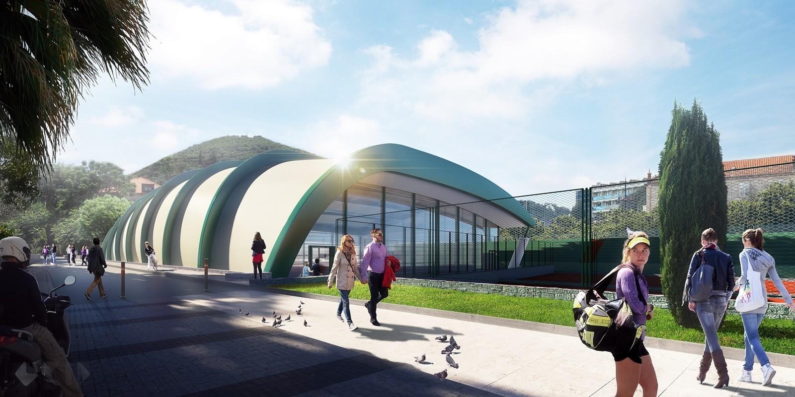 Izdana građevinska dozvola za projekt tenis dvorane u Lapadu