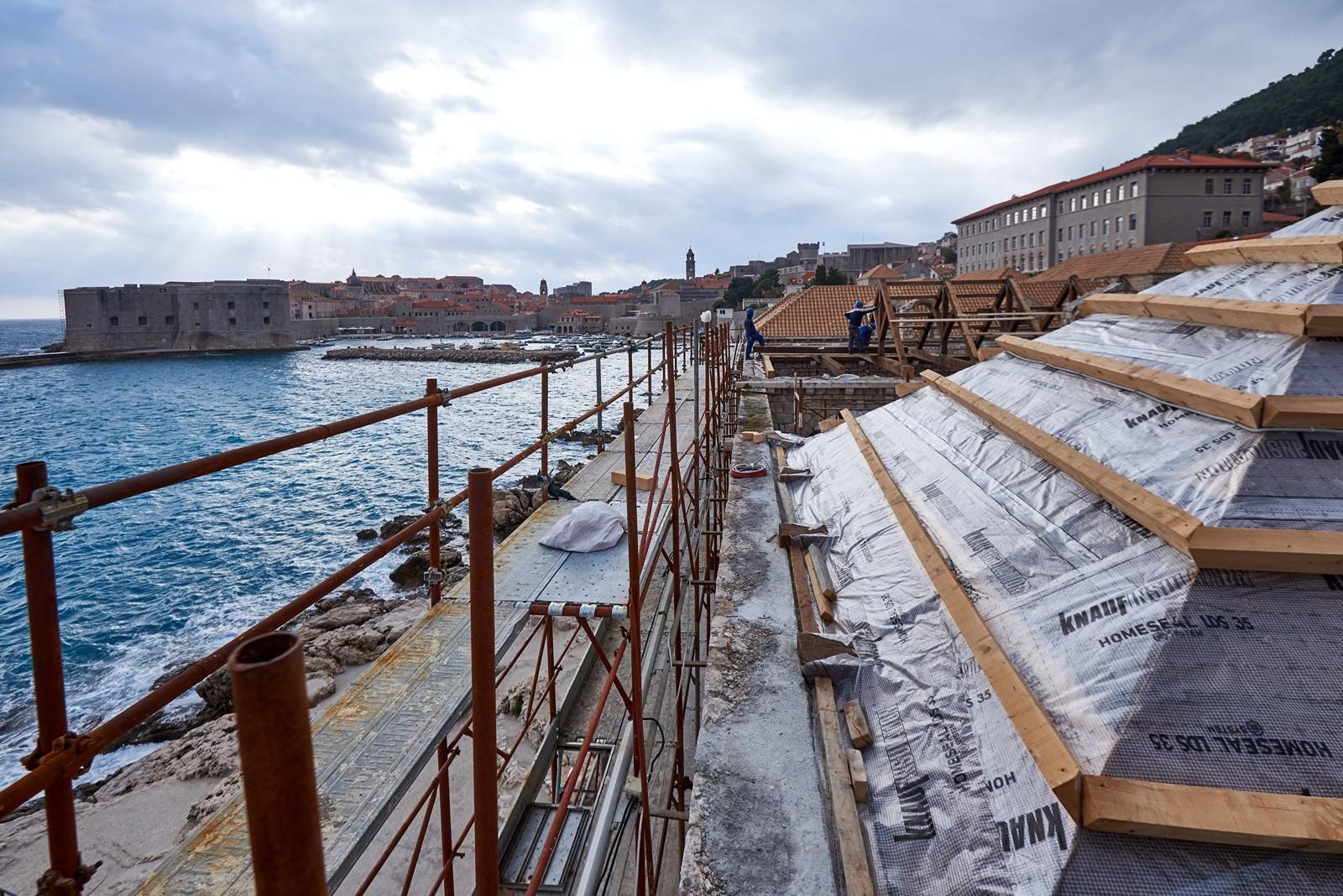 Napreduju radovi na obnovi posljednje tri lađe Lazareta