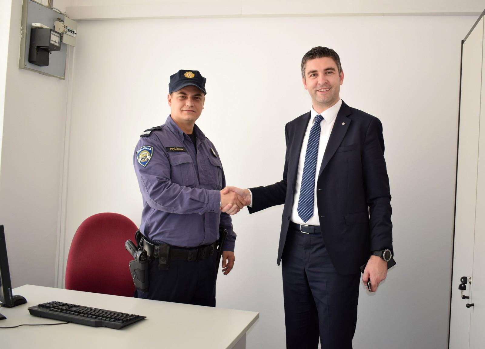 Suradnja Grada Dubrovnika i policije u GK Mokošica