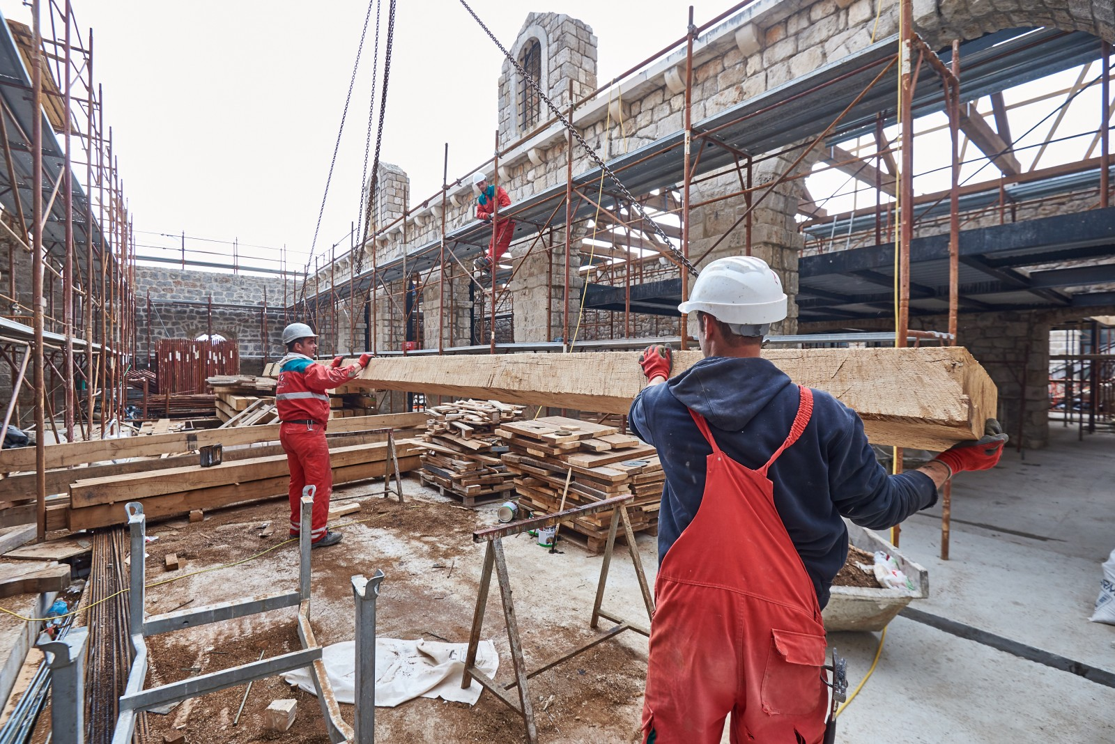 Izvođenje građevinskih radova u sezoni - popis odobrenja