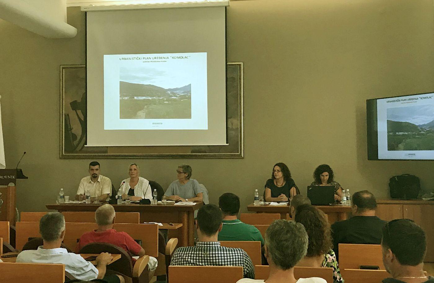 Održano javno izlaganje o prijedlogu UPU-a