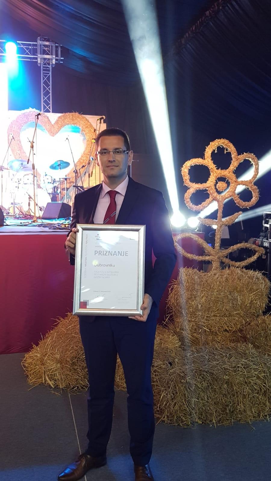 Najuspješnija destinacija kulture i gastronomije - Dubrovnik osvojio drugu nagradu