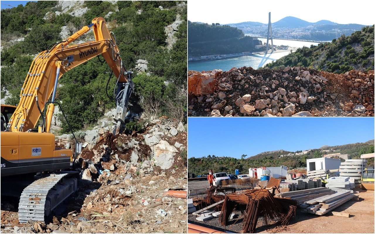 Počela izgradnja ceste Most dr. Franja Tuđmana – Osojnik