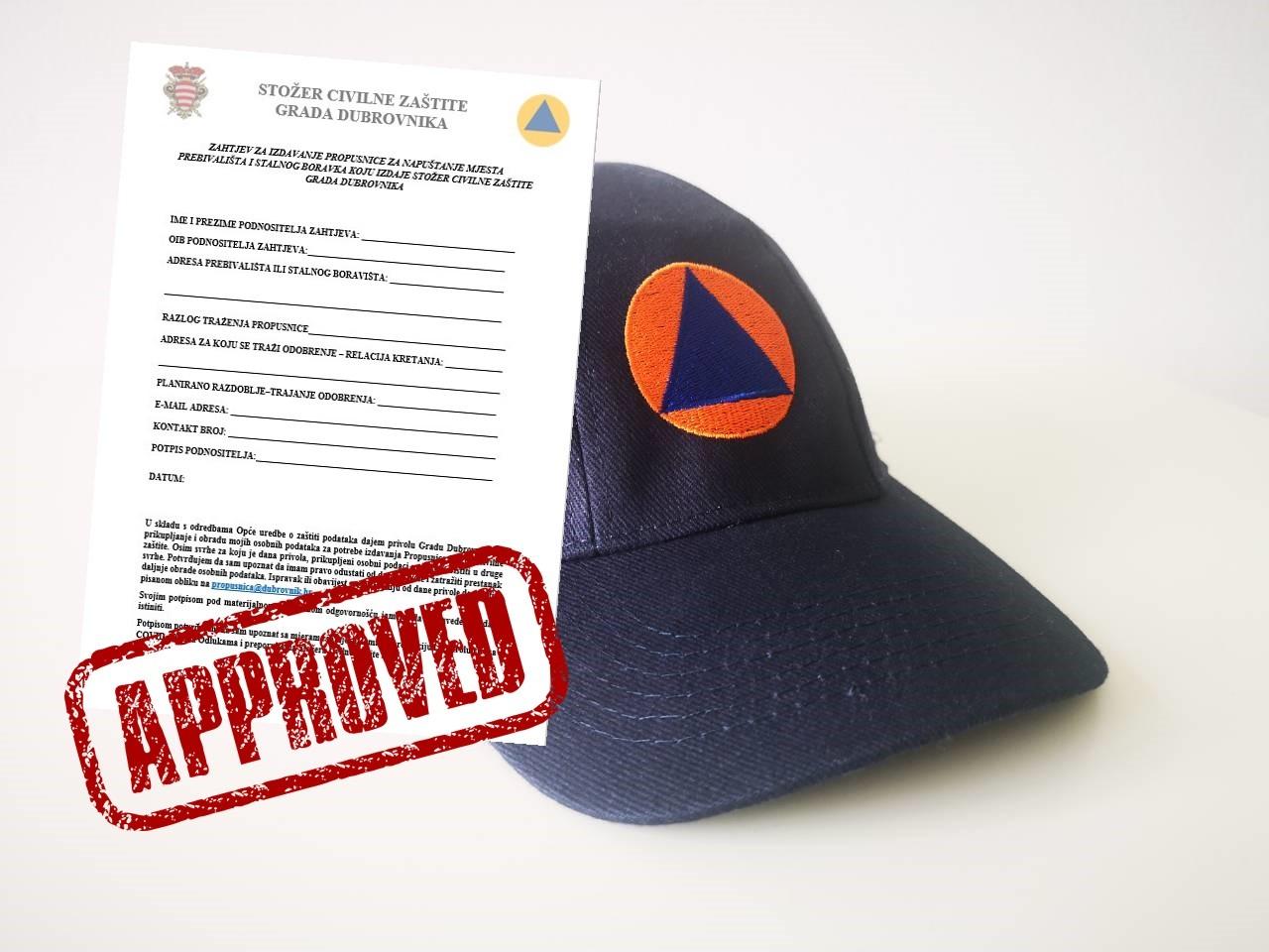 Uspostavljen Novi Protokol Za Izdavanje Propusnica Za Napustanje Mjesta Prebivalista Grad Dubrovnik