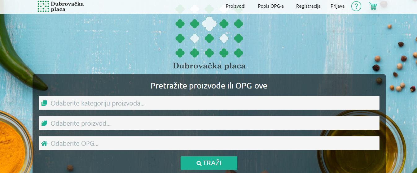Sanitat pokrenuo internetsku platformu Dubrovačka placa